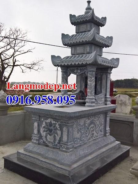 61 Mẫu mộ ba mái bằng đá thiết kế hiện đại đẹp tại Tiền Giang