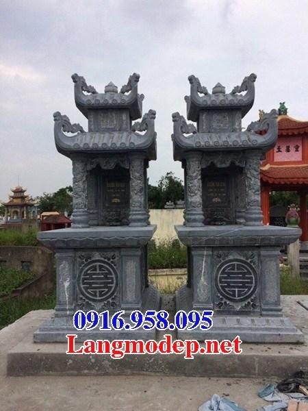 61 Mẫu mộ hai mái bằng đá đẹp tại Tiền Giang