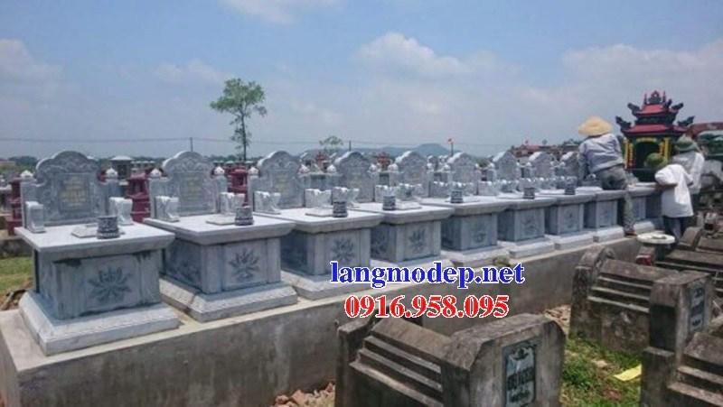 61 Mẫu mộ không mái bằng đá tự nhiên nguyên khối đẹp tại Tiền Giang