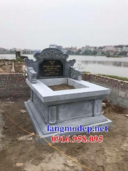 61 Mẫu mộ không mái bằng đá thiết kế đơn giản đẹp tại Tiền Giang