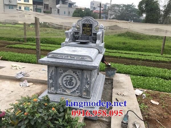 61 Mẫu mộ không mái bằng đá thiết kế đẹp tại Tiền Giang