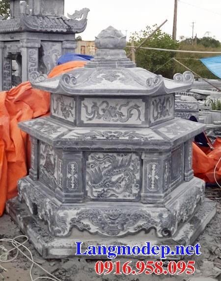 61 Mẫu mộ lục lăng bát giác bằng đá thiết kế hiện đại đẹp tại Tiền Giang