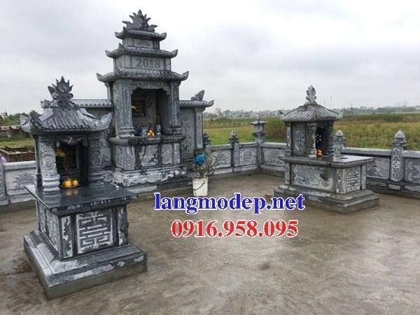 61 Mẫu mộ một mái bằng đá đẹp tại Tiền Giang