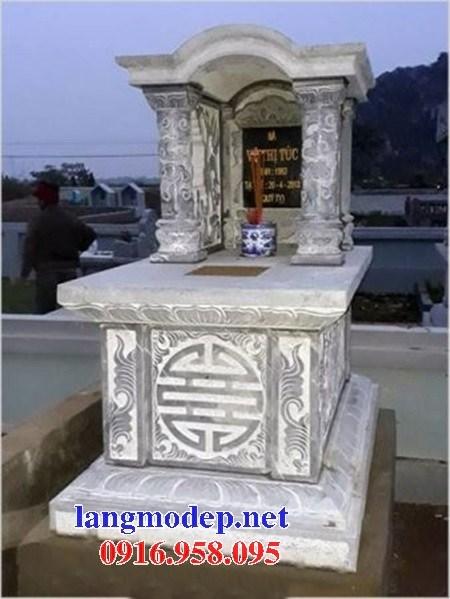 61 Mẫu mộ một mái bằng đá thiết kế đơn giản đẹp tại Tiền Giang