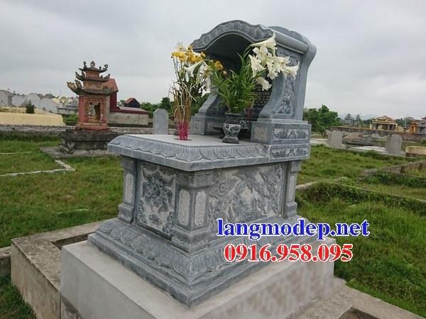 61 Mẫu mộ một mái bằng đá thiết kế đẹp tại Tiền Giang