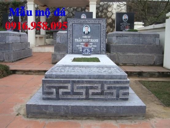 61 Mẫu mộ tam cấp bằng đá mỹ nghệ Ninh Bình đẹp tại Tiền Giang
