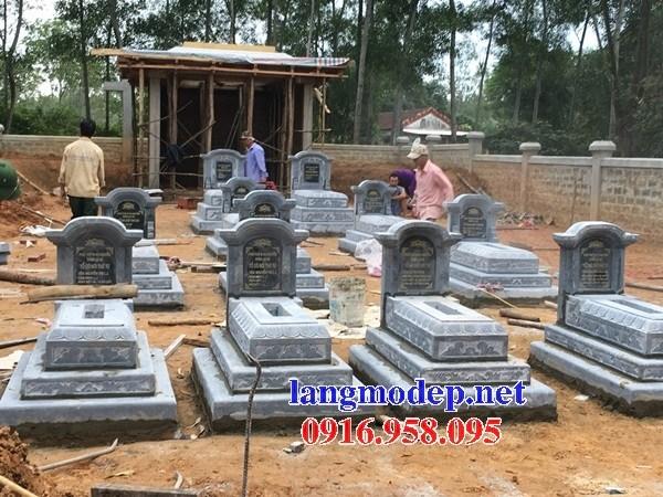 61 Mẫu mộ tam cấp bằng đá thiết kế đơn giản đẹp tại Tiền Giang