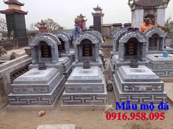 61 Mẫu mộ tam cấp bằng đá xanh Thanh Hóa đẹp tại Tiền Giang