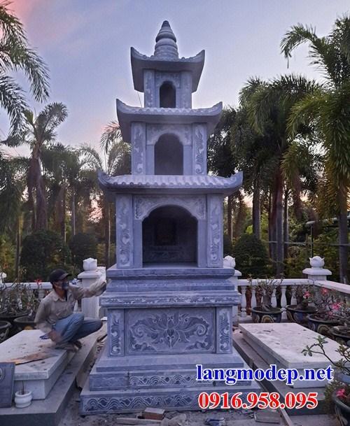 61 Mẫu mộ tháp bằng đá mỹ nghệ Ninh Bình đẹp tại Tiền Giang