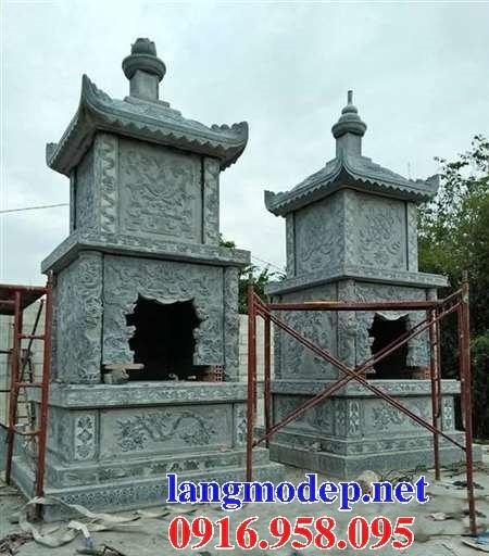 61 Mẫu mộ tháp cất để tro cốt hỏa táng bằng đá đẹp tại Tiền Giang