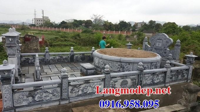 61 Mẫu mộ tròn bằng đá đẹp tại Tiền Giang