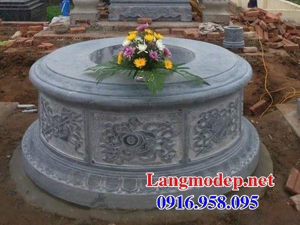61 Mẫu mộ tròn bằng đá thiết kế đẹp tại Tiền Giang