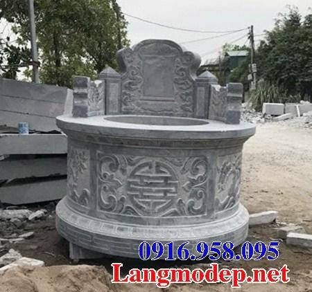 61 Mẫu mộ tròn bằng đá xanh Thanh Hóa đẹp tại Tiền Giang