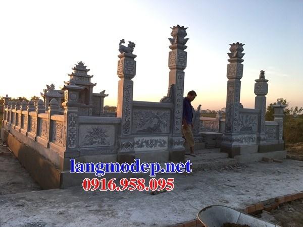 72 Mẫu cổng khu lăng mộ nghĩa trang gia đình dòng họ bằng đá thiết kế hiện đại đẹp bán tại Trà Vinh