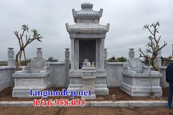 72 Mẫu củng kỳ đài thờ chung khu lăng mộ gia đình dòng họ bằng đá đẹp bán tại Trà Vinh