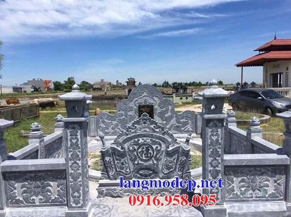 72 Mẫu cuốn thư bức bình phong khu lăng mộ nghĩa trang gia đình dòng họ bằng đá mỹ nghệ Ninh Bình đẹp bán tại Trà Vinh