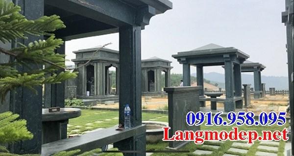 72 Mẫu khu lăng mộ đá xanh rêu đẹp bán tại Trà Vinh