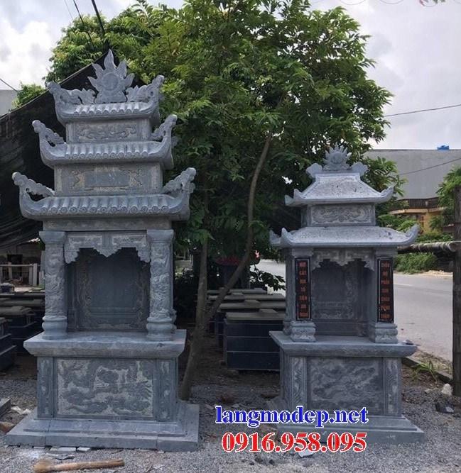 72 Mẫu lăng thờ chung khu lăng mộ gia đình dòng họ bằng đá đẹp bán tại Trà Vinh