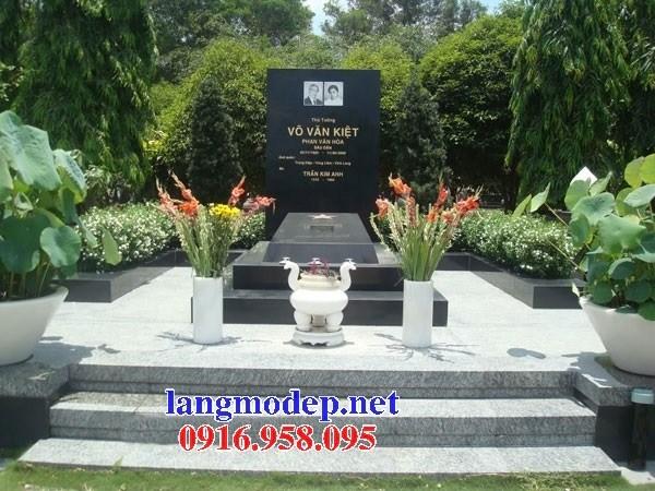 72 Mẫu mộ đá granite thiết kế đẹp bán tại Trà Vinh