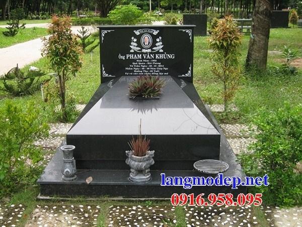 72 Mẫu mộ đá hoa cương tự nhiên đẹp bán tại Trà Vinh