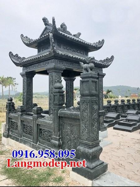 72 Mẫu mộ đá xanh rêu đẹp bán tại Trà Vinh