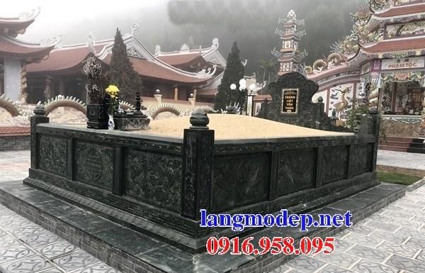 72 Mẫu mộ đá xanh rêu cao cấp đẹp bán tại Trà Vinh