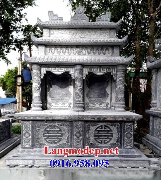 72 Mẫu mộ đôi gia đình bằng đá thiết kế đẹp bán tại Trà Vinh