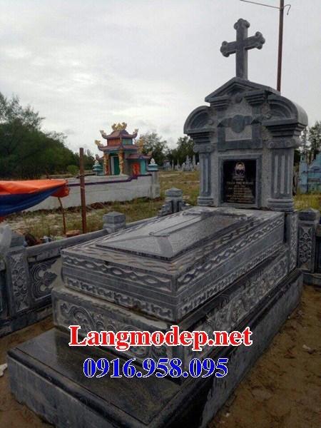 72 Mẫu mộ đạo thiên chúa công giáo cất để tro cốt hỏa táng bằng đá đẹp bán tại Trà Vinh