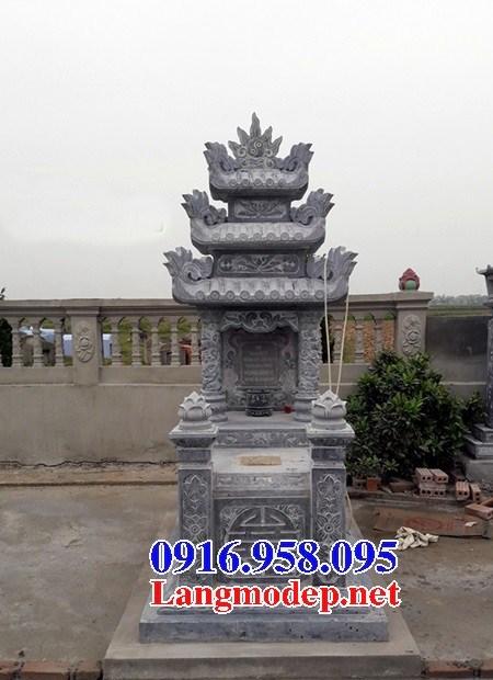 72 Mẫu mộ ba mái bằng đá thiết kế đẹp bán tại Trà Vinh