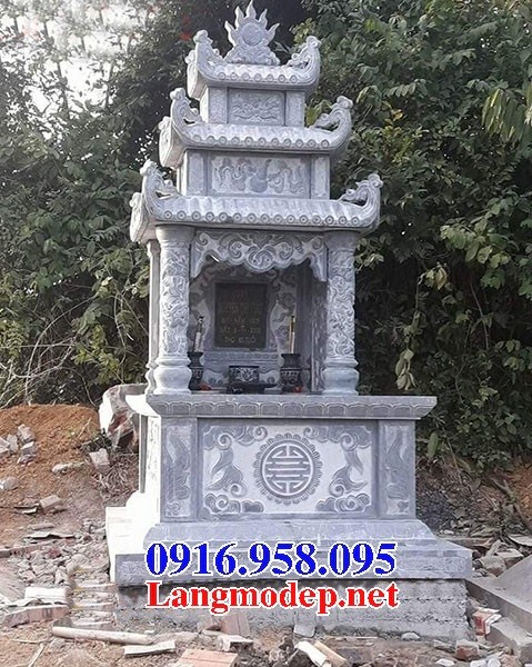 72 Mẫu mộ ba mái bằng đá thiết kế hiện đại đẹp bán tại Trà Vinh