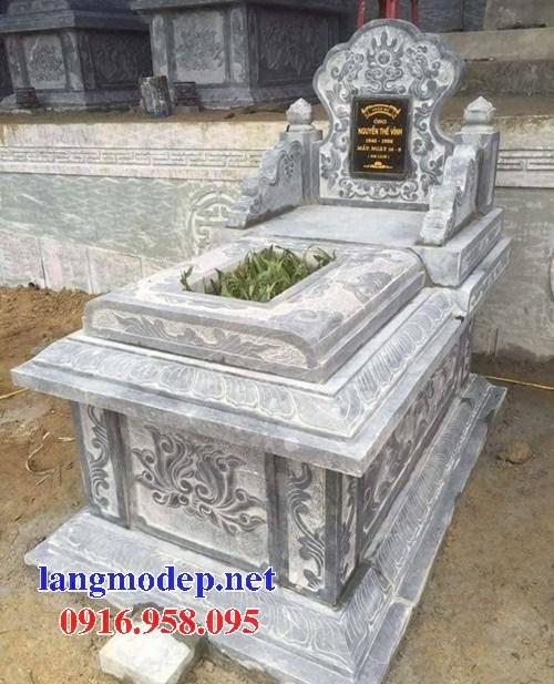 72 Mẫu mộ không mái bằng đá đẹp bán tại Trà Vinh