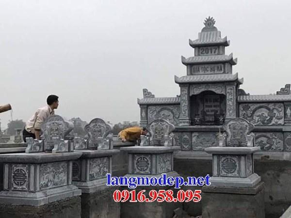 72 Mẫu mộ không mái bằng đá thiết kế đơn giản đẹp bán tại Trà Vinh