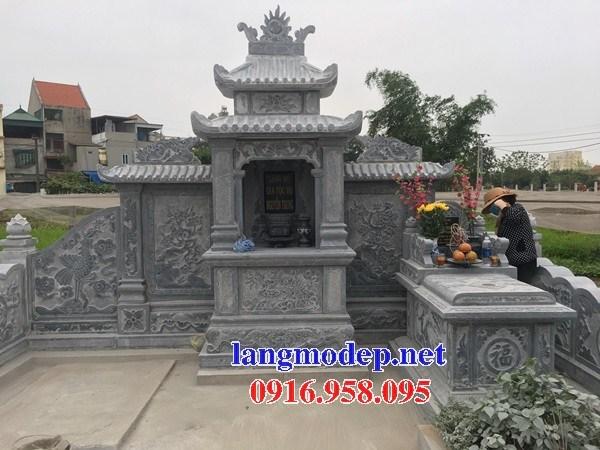 72 Mẫu mộ không mái bằng đá thiết kế đẹp bán tại Trà Vinh
