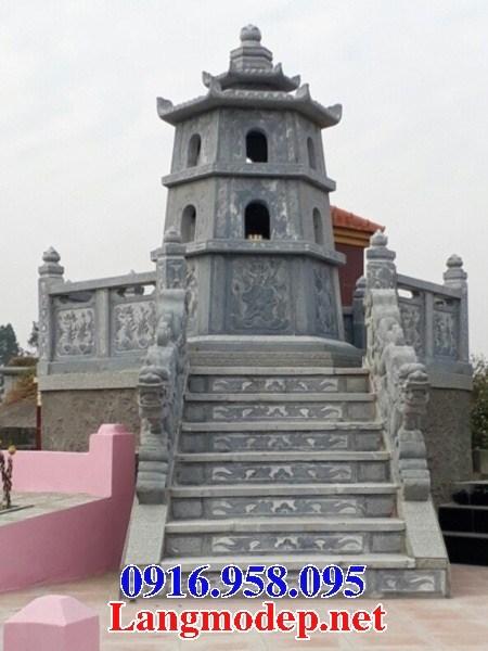 72 Mẫu mộ lục lăng bát giác bằng đá đẹp bán tại Trà Vinh