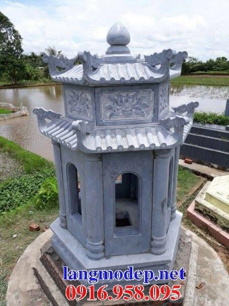 72 Mẫu mộ lục lăng bát giác bằng đá thiết kế đẹp bán tại Trà Vinh