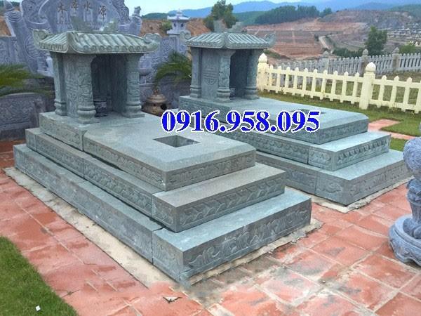 72 Mẫu mộ một mái bằng đá thiết kế đơn giản đẹp bán tại Trà Vinh