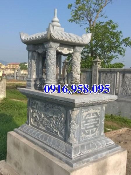 72 Mẫu mộ một mái bằng đá xanh Thanh Hóa đẹp bán tại Trà Vinh
