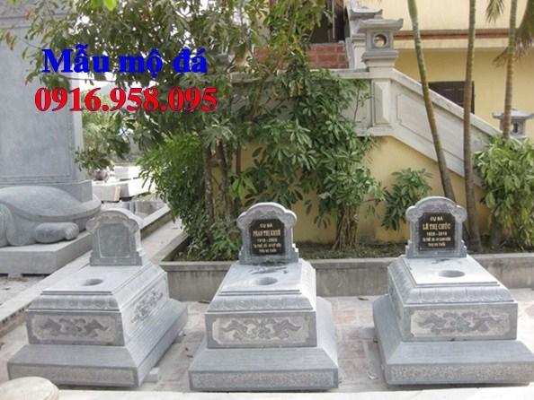 72 Mẫu mộ tam cấp bằng đá đẹp bán tại Trà Vinh