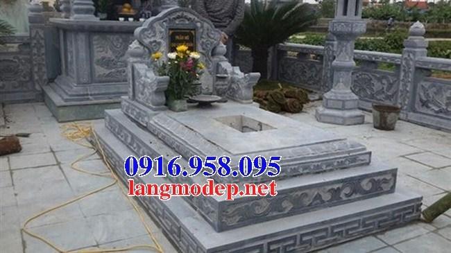 72 Mẫu mộ tam cấp bằng đá tự nhiên nguyên khối đẹp bán tại Trà Vinh