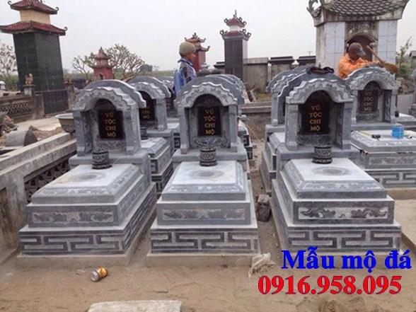 72 Mẫu mộ tam cấp bằng đá xanh Thanh Hóa đẹp bán tại Trà Vinh