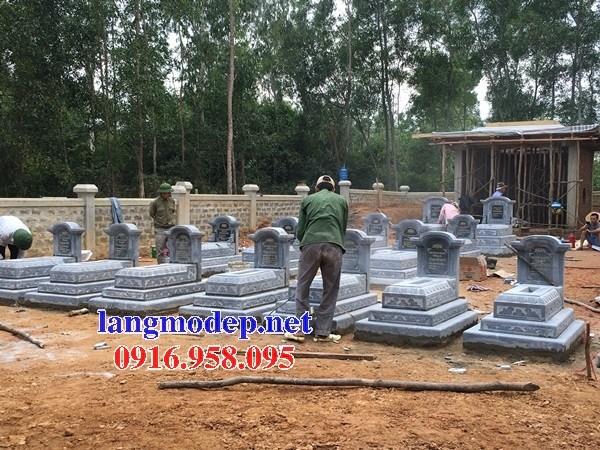72 Mẫu mộ tam cấp cất để tro cốt hỏa táng bằng đá đẹp bán tại Trà Vinh