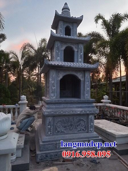 72 Mẫu mộ tháp bằng đá mỹ nghệ Ninh Bình đẹp bán tại Trà Vinh