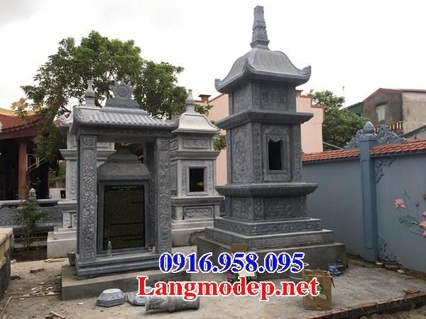 72 Mẫu mộ tháp bằng đá thiết kế đơn giản đẹp bán tại Trà Vinh