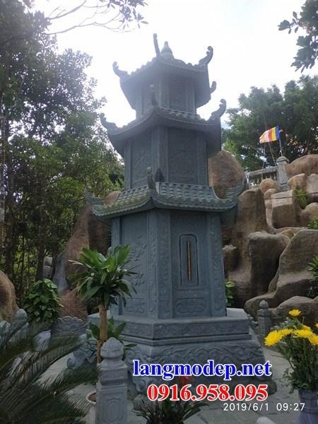 72 Mẫu mộ tháp bằng đá thiết kế đẹp bán tại Trà Vinh