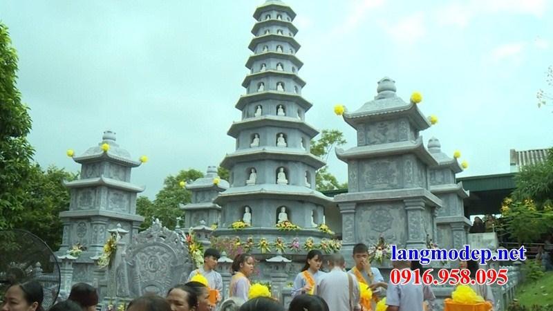72 Mẫu mộ tháp phật giáo sư trụ trì bằng đá đẹp bán tại Trà Vinh