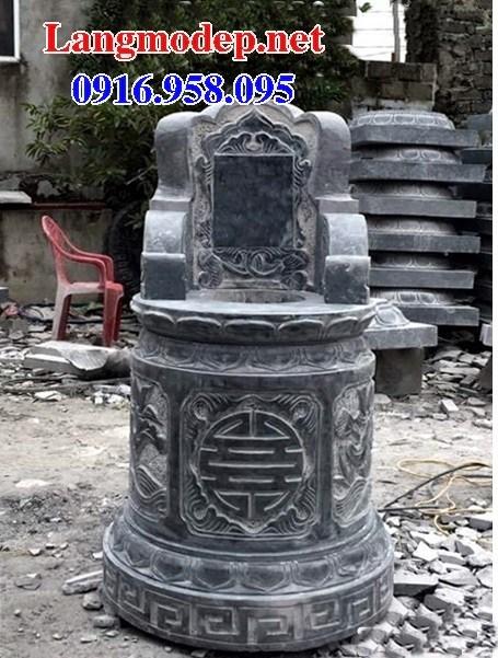 72 Mẫu mộ tròn bằng đá thiết kế đẹp bán tại Trà Vinh