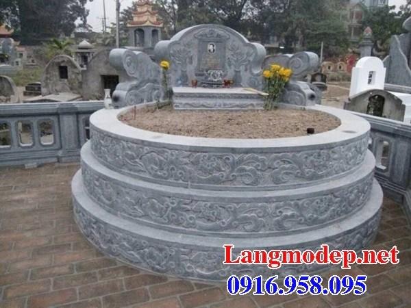 72 Mẫu mộ tròn cất để tro cốt hỏa táng bằng đá đẹp bán tại Trà Vinh