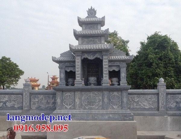 72 Mẫu miếu thờ chung khu lăng mộ gia đình dòng họ bằng đá mỹ nghệ Ninh Bình đẹp bán tại Trà Vinh