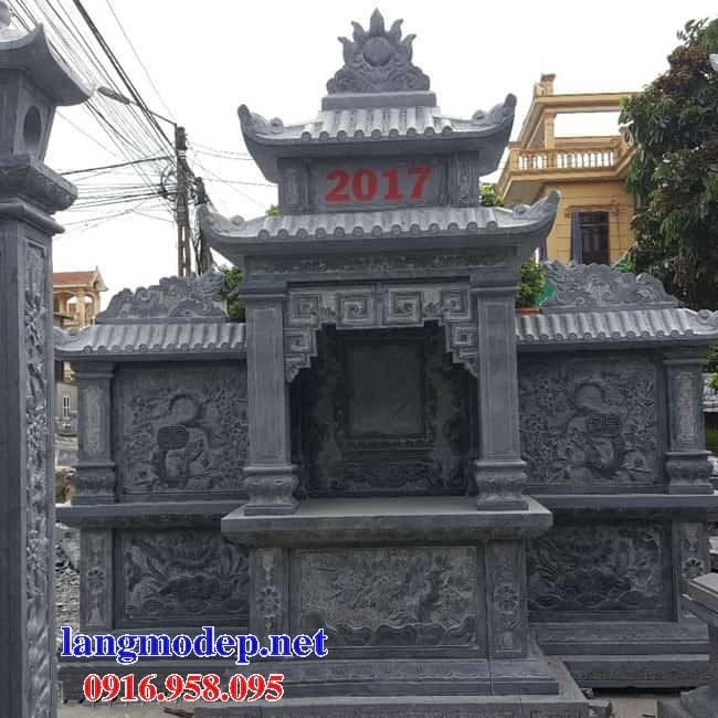 94 Mẫu cây hương thờ chung khu lăng mộ gia đình dòng họ bằng đá đẹp bán tại Cao Bằng