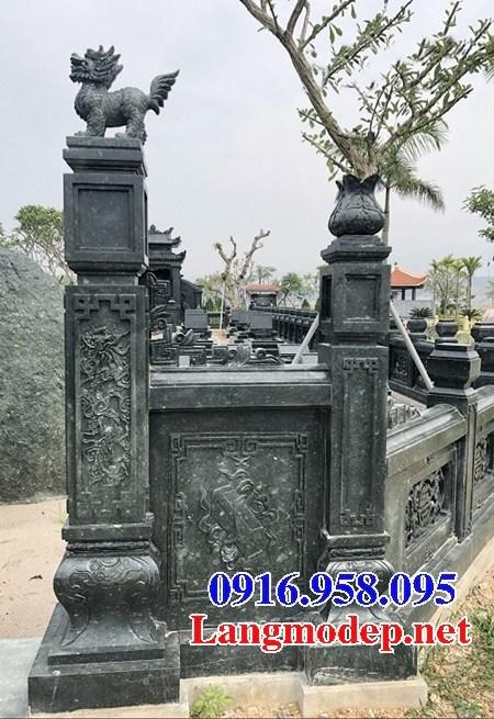 94 Mẫu cổng khu lăng mộ đá xanh rêu đẹp bán tại Cao Bằng